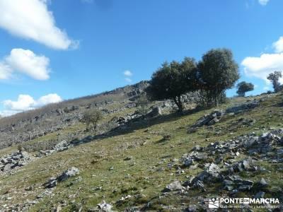 Pico Rocigalgo - Cascada del Chorro [Parque Nacional de Cabañeros] micologia madrid puerto de nava
